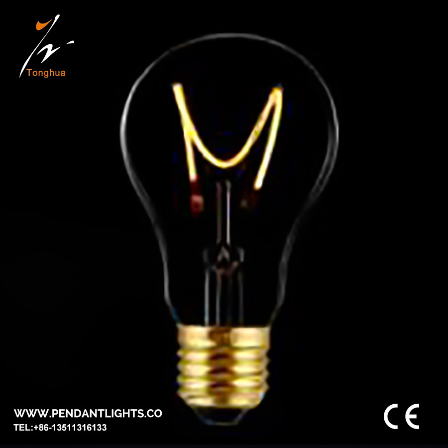 Soft LED Filament Bulb A19