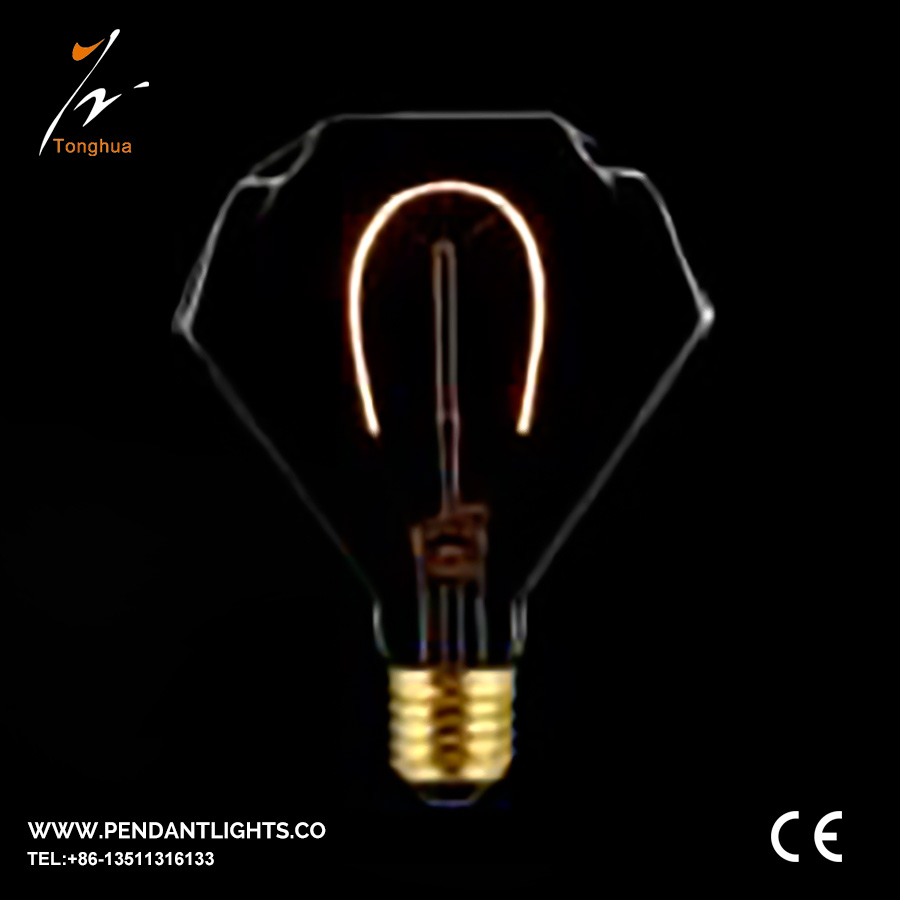 Soft LED Filament Bulb D95