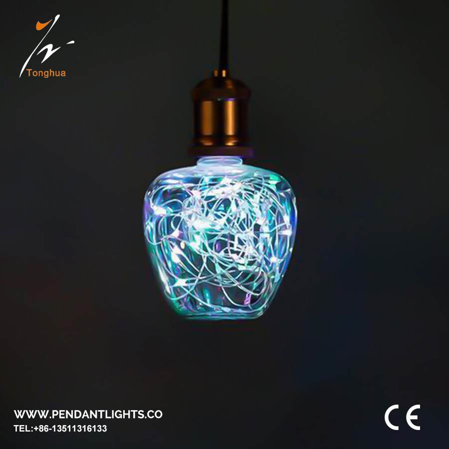 LED Copper Wire Bulb G100