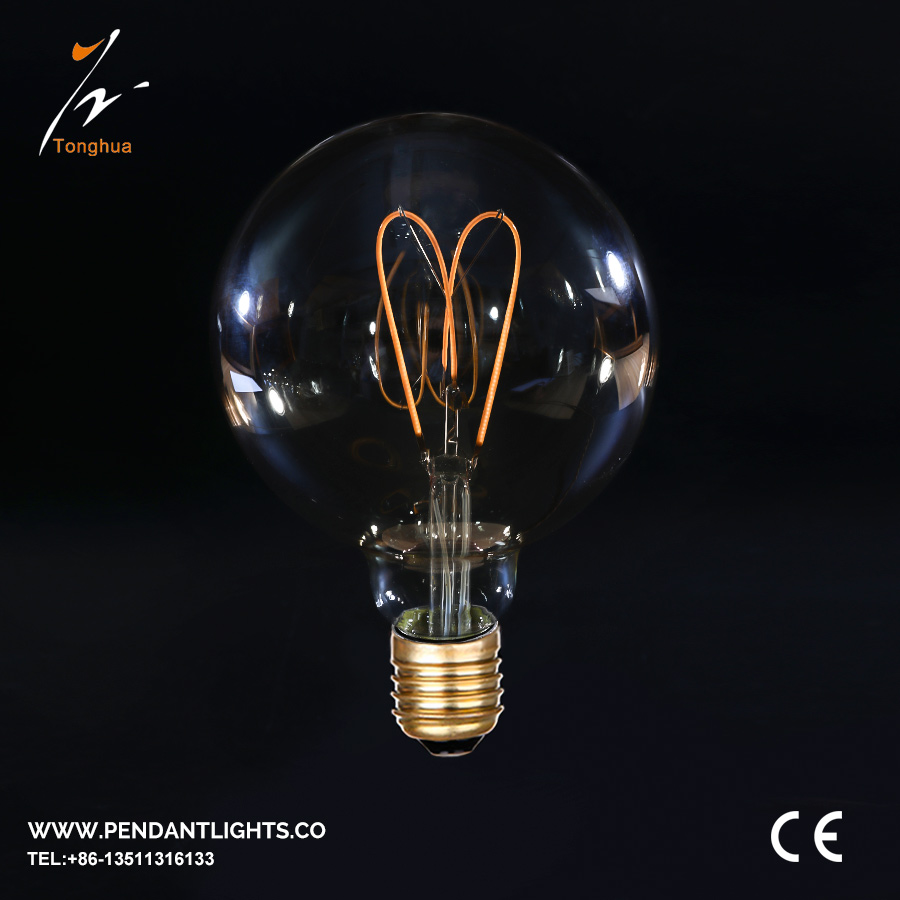 Soft LED Filament Bulb G125
