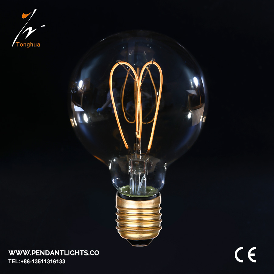 Soft LED Filament Bulb G80,G95