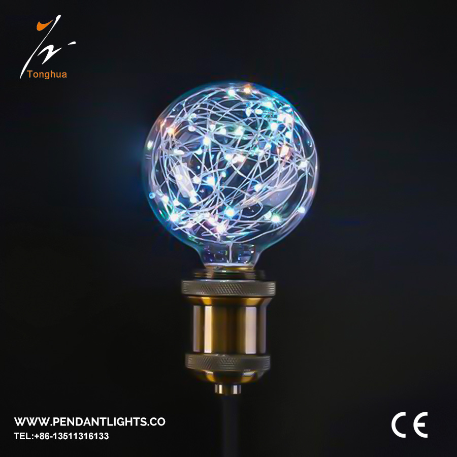 LED Copper Wire Bulb G95