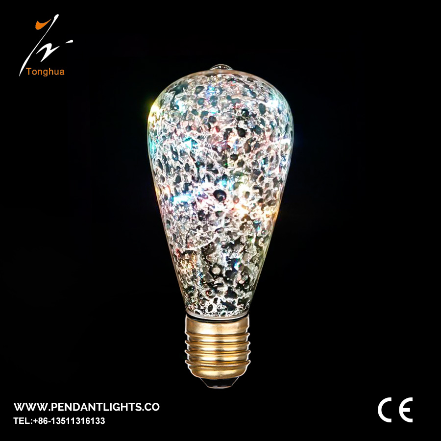 LED Copper Wire Bulb ST64