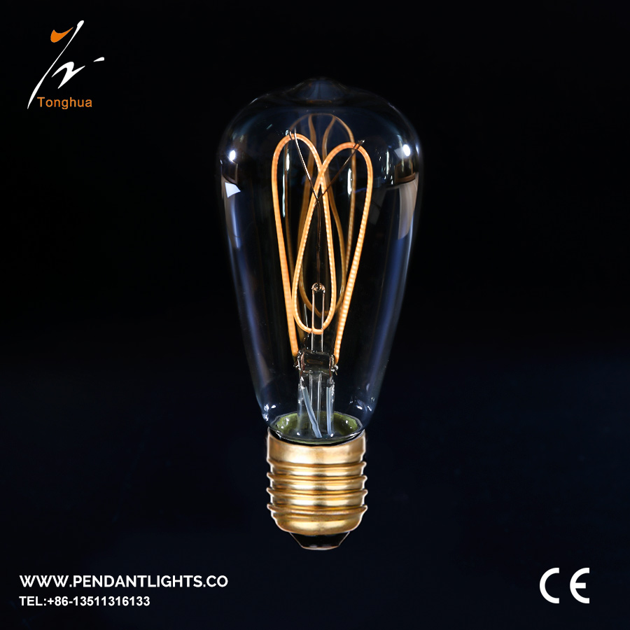 Soft LED Filament Bulb ST64
